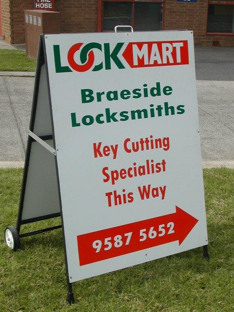 Lockmart-A-frame
